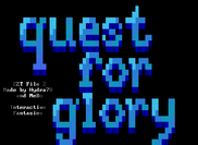Quest for Glory ZZT