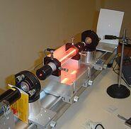 Laser helio neon