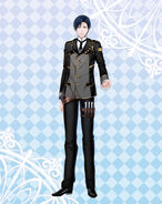 Gray official costume