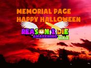 Halloween memorial