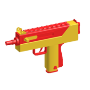 MAC-10 - Red Toy