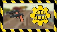 UNOFFICIAL R2DA - Dual M1911's Animations