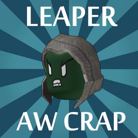 Leaper Aw crap