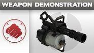 Weapon Demonstration Minigun