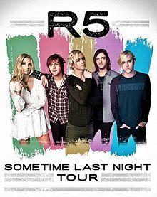 Sometime Last Night Tour R5 Wiki Fandom
