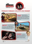 Mr. Peabody and Sherman Time Travels