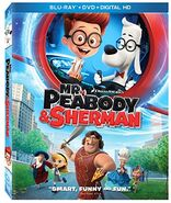 Mr. Peabody and Sherman Blu-ray