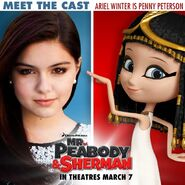 Ariel Winter and Penny Peterson