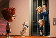 Mr. Peabody and Sherman Penny Peterson father mother come to dinner