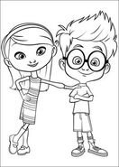 Sherman and Penny Peterson Coloring page 06