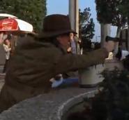 Agent X with gun
