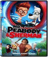 Mr. Peabody and Sherman Movie DVD