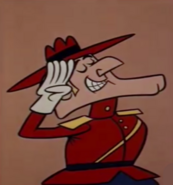 Dudley Do-Right Salute