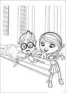 Sherman and Penny Peterson Coloring page 03