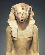 Seated Statue of Hatshepsut MET Hatshepsut2012