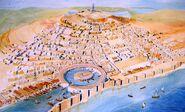 Carthage National Museum representation of city