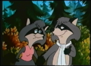 Melissa Raccoon and Ralph Raccoon