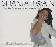 That don't impress me much shania twain