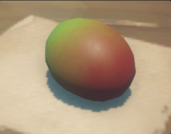 Mango on cooking pot.png