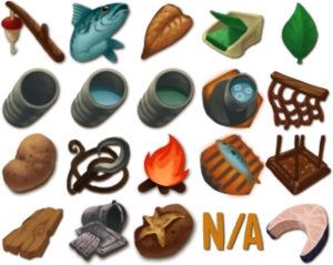 Some of the Original Icons of Raft