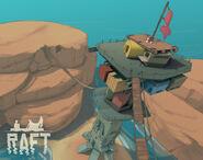 Игра Raft Вторая глава Тизер 2