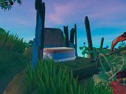 Ящик на вершине малого острова