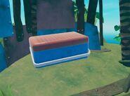 Ящик на вершина малого острова скриншот