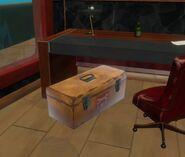 Лайнер - Железный ящик в кабинете