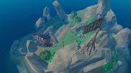 Остров капитанов вид сверху