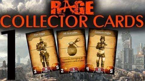 RAGE - Collector Cards Hagar Settlement