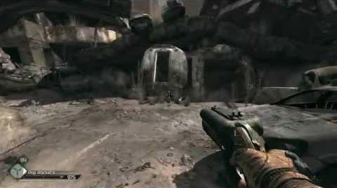 RAGE double barrel shotgun wingstick in action 1
