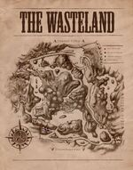 Map of the Northern Wasteland