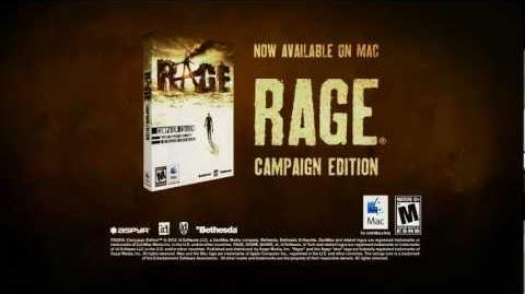 RAGE Mac Trailer (Official) - Video of trailer for RAGE Campaign Edition on Mac