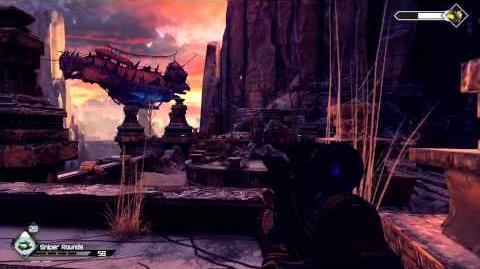 Rage the Scorchers DLC - Gunship Boss