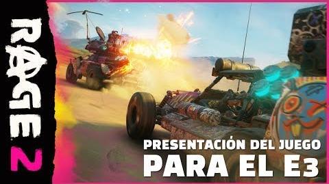 RAGE 2 – Presentación del juego oficial para el E3