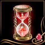 Red Hourglass