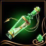 Green Message Bottle