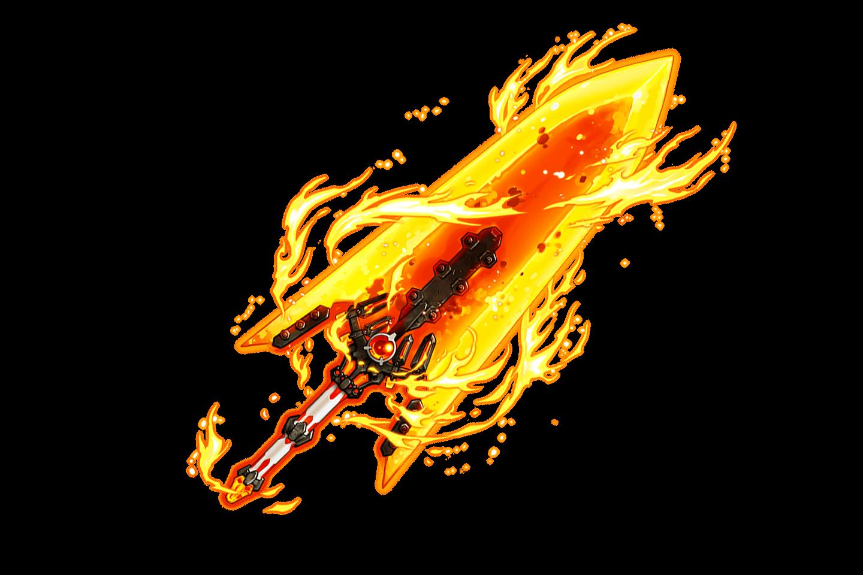 Burning Blade Big Flare