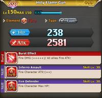 FLB Holy Flame Gun +99