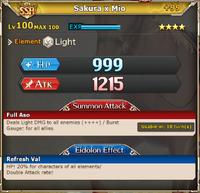MLB Sakura x Mio +99