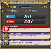 MLB Phantom Blight Calamity Mallet +99