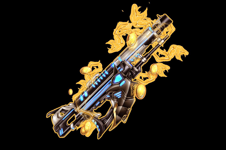 Dazzling Gold Carbine