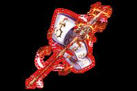 Crest Flag - Fire
