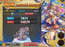 Shiva (Awakened) with +99 Bonus Stats