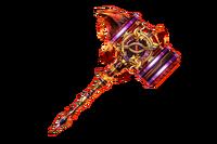 Flame Hammer Ra Rotacion