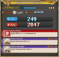 MLB Mystic Code of Hammurabi +99