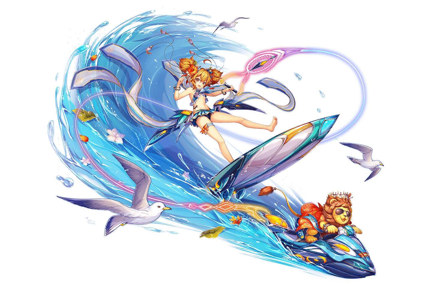 (Surfing Beast King) Cybele