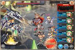 Ixion - Battle