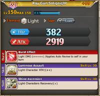 FLB Ray Gun Solignight +99