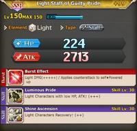 FLB Light Staff of Guilty Pride +99